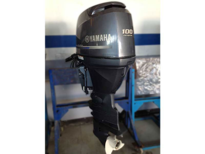 Used Outboards - Yamaha F100DETX