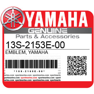 Yamaha Genuine Spare Parts Motorcycles - 13S-2153E-00