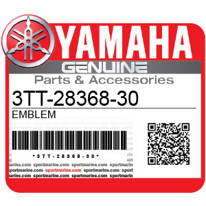 Yamaha Genuine Spare Parts Motorcycles - 3TT-28368-30