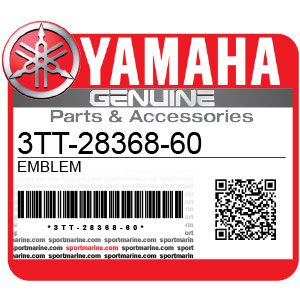 Yamaha Genuine Spare Parts Motorcycles - 3TT-28368-60