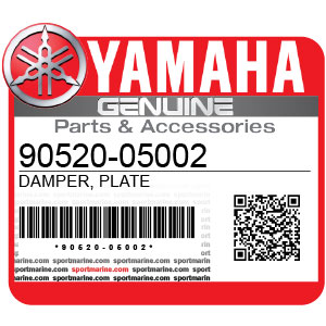 Yamaha Genuine Spare Parts Motorcycles - 90520-05002