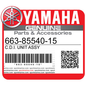 Yamaha Genuine Spare Parts Outboards - 663-85540-15