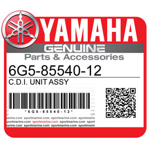 Yamaha Genuine Spare Parts Outboards - 6G5-85540-12