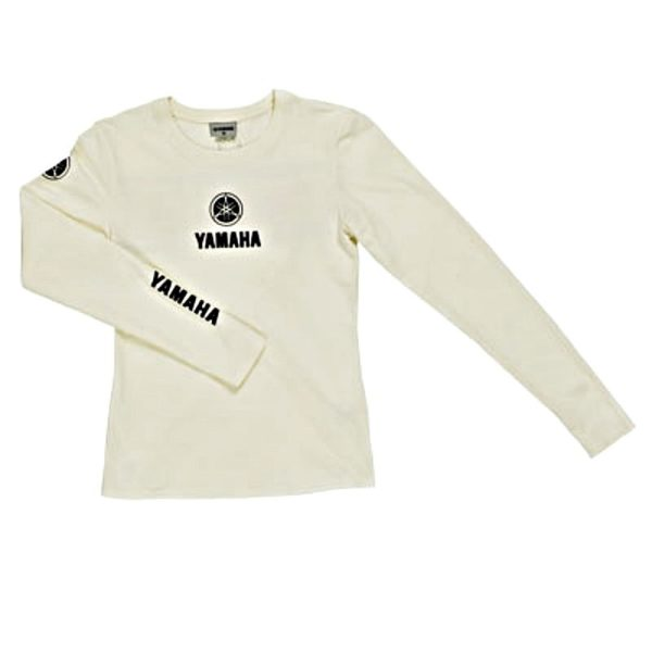 B09-0B2V3-XX-0F YAMAHA CLASSIC LONG SLEEVE WHITE FEMALE