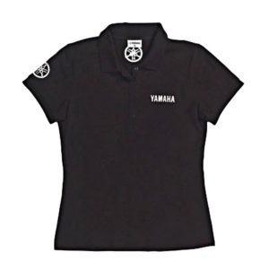 B09-0D2V2-1S-9A YAMAHA CLASSIC POLO BLACK FEMALE