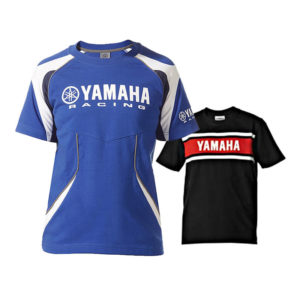 B10-AT401-06-B0 / B10-AT401-06-B0 YAMAHA T-SHIRT BLUE/BLACK KIDS