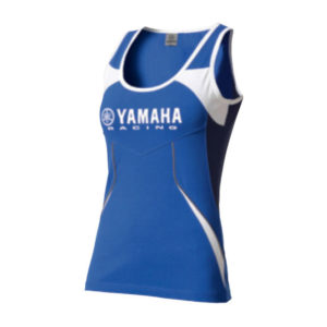 B12-FT208-E0-XX YAMAHA PADDOCK BLUE FEMALE TANK TOP