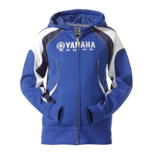 B12-FT507-E0-XX YAMAHA PADDOCK BLUE JUNIOR HOODY