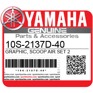 Yamaha Genuine Spare Parts Motorcycles - 10S-2137D-40