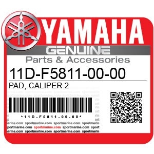 Yamaha Genuine Spare Parts Motorcycles - 11D-F5811-00-00