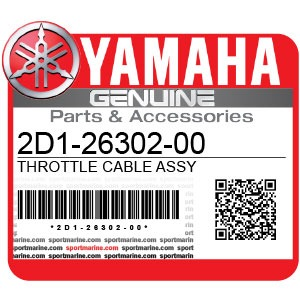 Yamaha Genuine Spare Parts Motorcycles - 2D1-26302-00