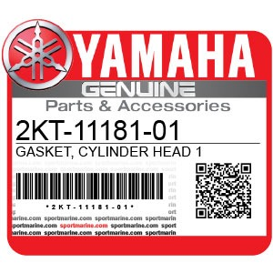 Yamaha Genuine Spare Parts Motorcycles - 2KT-11181-01