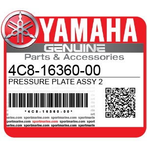 Yamaha Genuine Spare Parts Motorcycles - 4C8-16360-00