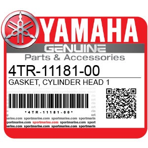 Yamaha Genuine Spare Parts Motorcycles - 4TR-11181-00