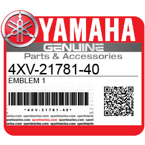 Yamaha Genuine Spare Parts Motorcycles - 4XV-21781-40