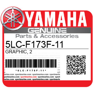 Yamaha Genuine Spare Parts Motorcycles - 5LC-F173F-11
