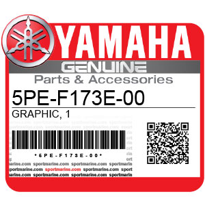 Yamaha Genuine Spare Parts Motorcycles - 5PE-F173E-00