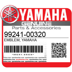 Yamaha Genuine Spare Parts Motorcycles - 99241-00320