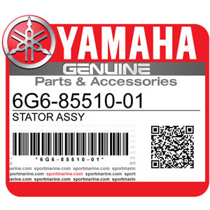 Yamaha Genuine Spare Parts Outboards - 6G6-85510-01