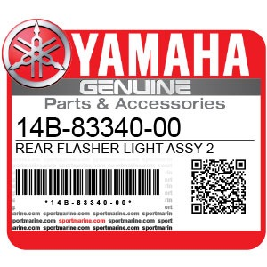 Yamaha Genuine Spare Parts Motorcycles - 14B-83340-00