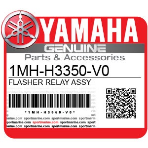 Yamaha Genuine Spare Parts Motorcycles - 1MH-H3350-V0