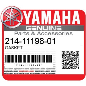 Yamaha Genuine Spare Parts Motorcycles - 214-11198-01