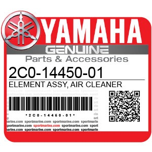 Yamaha Genuine Spare Parts Motorcycles - 2C0-14450-01
