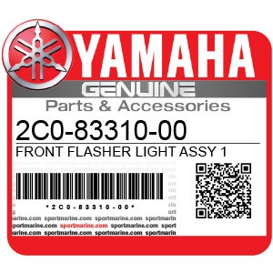 Yamaha Genuine Spare Parts Motorcycles - 2C0-83310-00