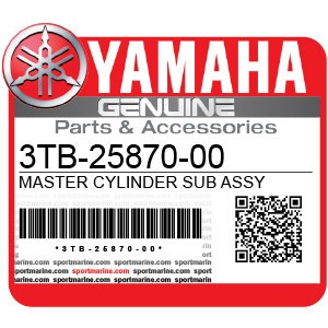 Yamaha Genuine Spare Parts Motorcycles - 3TB-25870-00