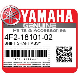 Yamaha Genuine Spare Parts Motorcycles - 4F2-18101-02