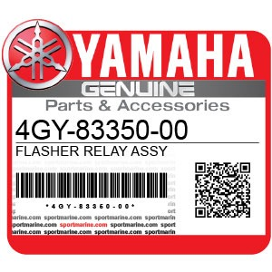 Yamaha Genuine Spare Parts Motorcycles - 4GY-83350-00