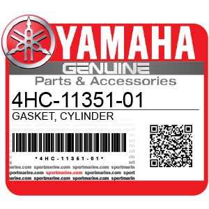 Yamaha Genuine Spare Parts Motorcycles - 4HC-11351-01