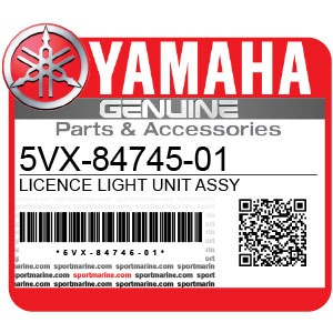Yamaha Genuine Spare Parts Motorcycles - 5VX-84745-01