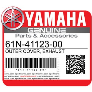 Yamaha Genuine Spare Parts Outboards - 61N-41123-00