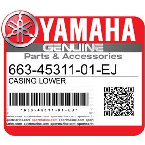 Yamaha Genuine Spare Parts Outboards - 663-45311-01-EJ