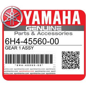Yamaha Genuine Spare Parts Outboards - 6H4-45560-00