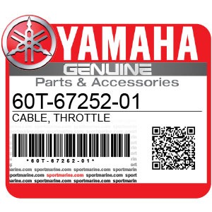 Yamaha Genuine Spare Parts Waverunners - 60T-67252-01 / 60T-67252-00