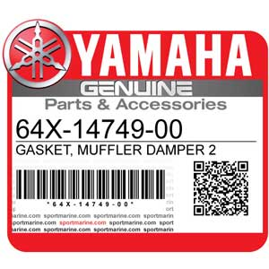 Yamaha Genuine Spare Parts Waverunners - 64X-14749-00