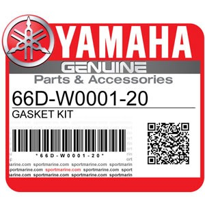 Yamaha Genuine Spare Parts Waverunners - 66D-W0001-20
