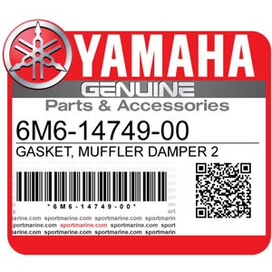 Yamaha Genuine Spare Parts Waverunners - 6M6-14749-00