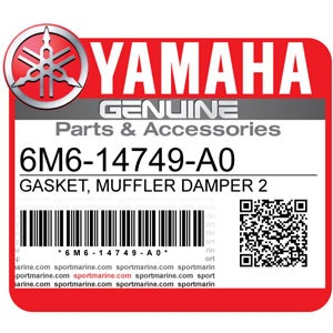 Yamaha Genuine Spare Parts Waverunners - 6M6-14749-A0