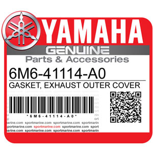 Yamaha Genuine Spare Parts Waverunners - 6M6-41114-A0