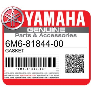 Yamaha Genuine Spare Parts Waverunners - 6M6-81844-00