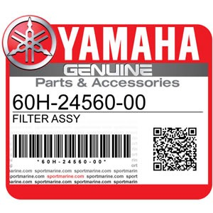 Yamaha Genuine Spare Parts Outboards - 60H-24560-00