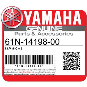 Yamaha Genuine Spare Parts Outboards - 61N-14198-00