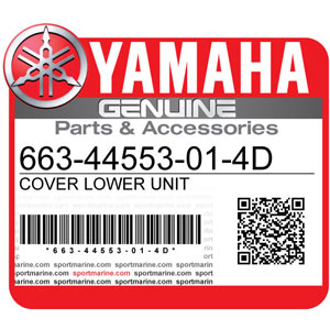 Yamaha Genuine Spare Parts Outboards - 663-44553-01-4D