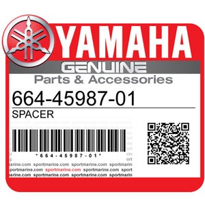 Yamaha Genuine Spare Parts Outboards - 664-45987-01