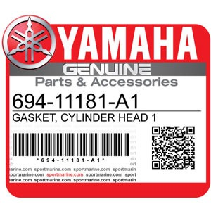 Yamaha Genuine Spare Parts Outboards - 694-11181-A1
