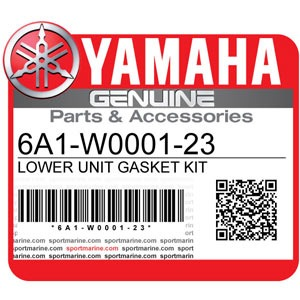 Yamaha Genuine Spare Parts Outboards - 6A1-W0001-23