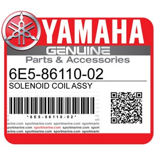 Yamaha Genuine Spare Parts Outboards - 6E5-86110-02